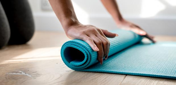 yogamat cleaning