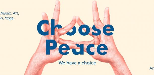 The Inner Peace Conference 2017. Choose Peace, We have a choice. 7 & 8 October, 2017