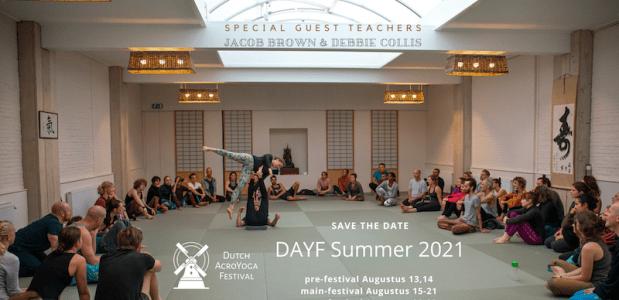 Dutch AcroYoga Festival Summer 2021