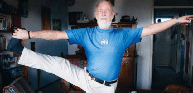 Yoga op oudere leeftijd