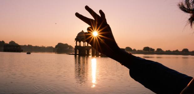 india vakantie reis yoga