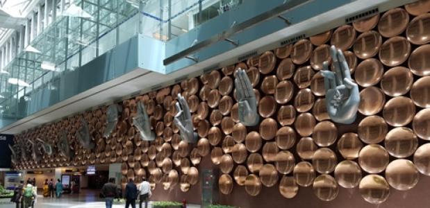 Vliegveld Delhi