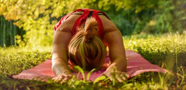 Yoga in tijden van Zoom