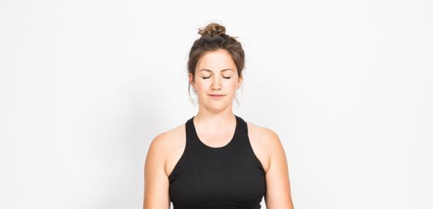 Yogahouding: lotus