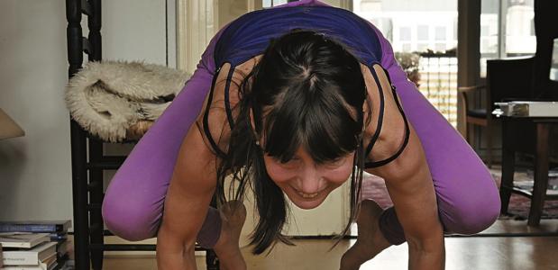 het boek Yoga thuis