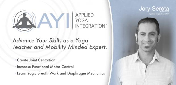 Jory Serota, Applied Yoga Integration