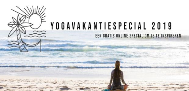 Yogavakantiespecial van Yoga International