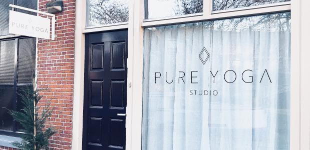 Laagdrempelig kennismaken met yoga bij open dag Pure Yoga Studio