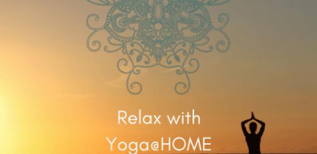 Relax met 100%YOGA@HOME