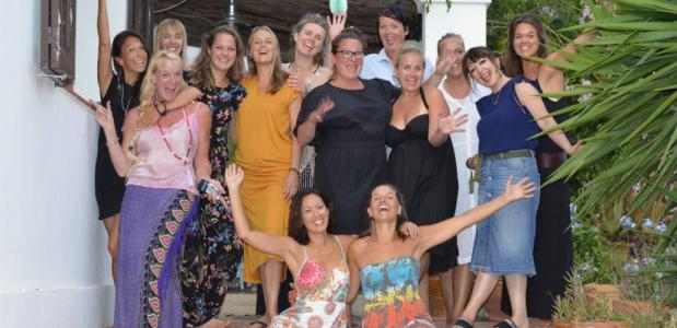 Shine Brightly Women's retreats Ibiza