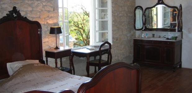 Een yoga-retraite naar de Dordogne slaapkamer