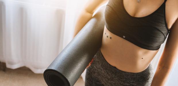 yoga alleen les