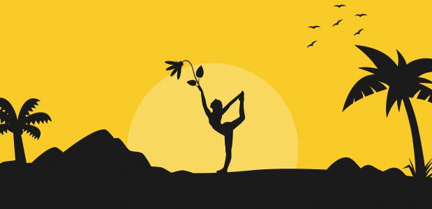 7 vreemde soorten yoga waarvan je het bestaan niet afwist!
