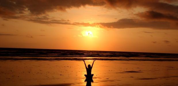 yoga strand festival eiland