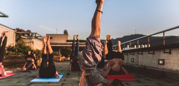 yoga eten les