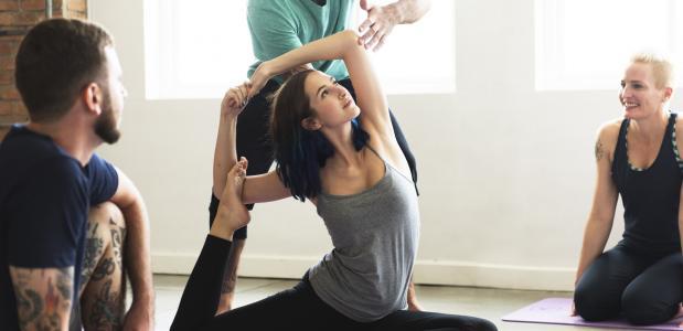 yoga leraar pricewise zorgverzekering blessure