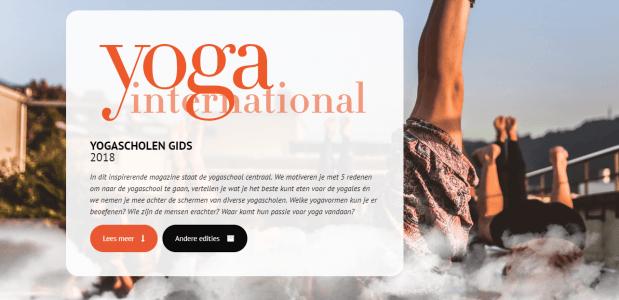 online magazine digitaal lezen yoga
