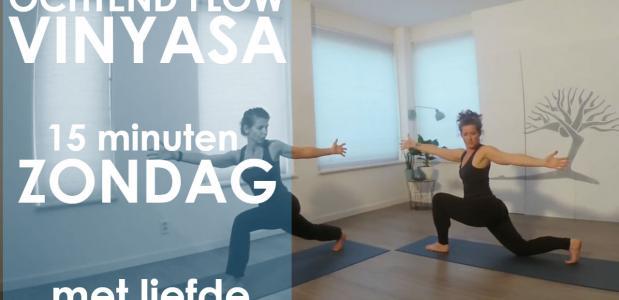 yoga ochtendroutine vinyasa