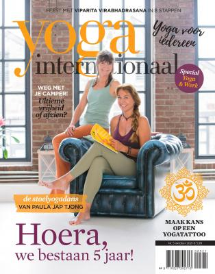 5 jaar Yoga International