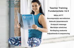 Aerial Yoga Teacher Training Fundamentals I & II