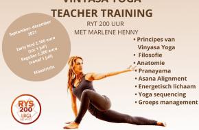 Vinyasa Yoga Teacher Training Marlene Henny
