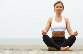 Beat the Heat-yoga oefening