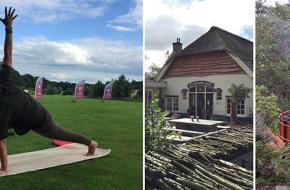 Yoga in de vrije natuur Nederland