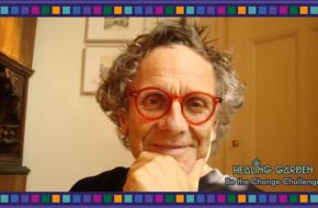 Willem de Ridder voor Be The Change Challenge. © Healing Garden Festival