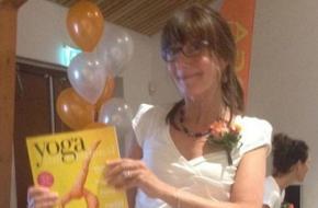 Nationale Stoelyogadag / Yoga International-hoofdredacteur Marciel Witteman was erbij