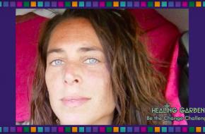 Sanna Holdert. bron: Be The Change Challenge van het Healing Garden Festival