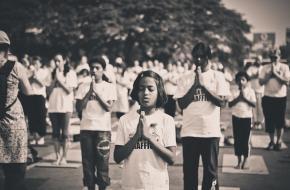 Yoga tegen mensenhandel