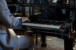 piano yoga liggen concert mat