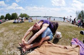Yogafestival Healing Garden