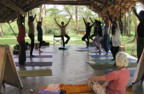 KidsYoga Training In Tanzania