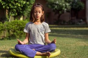 Kinderyoga Yoga kind meisje