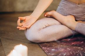 Meditatie pose