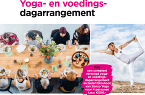 winactie yoga international yoga en voeding dagarrangement