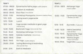 Planning Sãdhanã online yogafestival
