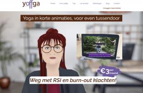 Nieuwe yoga website: Yoffga