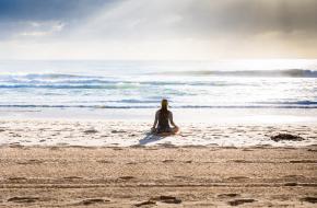 Hoe te mediteren met angst