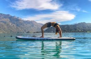 Sup yoga, purayoga, yoga op water