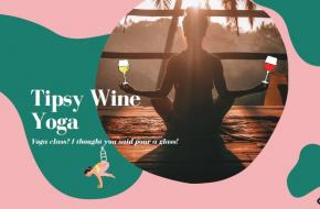 Tipsy Wine Yoga