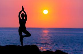 yoga balans oefeningen