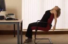 Beeldstil via YouTube. Yoga for the Office - Part 1 van Ekhart Yoga.