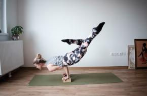 yoga houding block