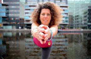 Karina Delfos, Yoga Lifestyle
