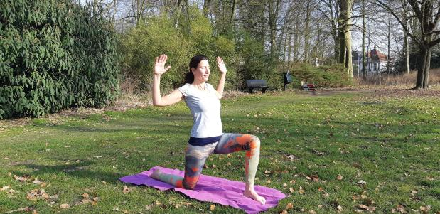 workshop yoga festival duo yin voetreflexologie